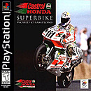 jaquette PlayStation 1 Castrol Honda Superbike World Champions