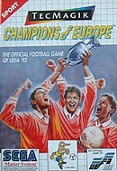 jaquette Master System Champions Of Europe