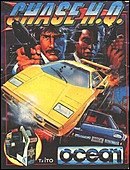 jaquette Commodore 64 Chase H.Q.