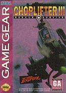 jaquette Game Gear Choplifter III