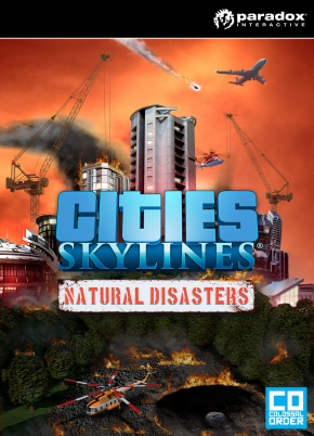 jaquette PC Cities Skylines Natural Disasters
