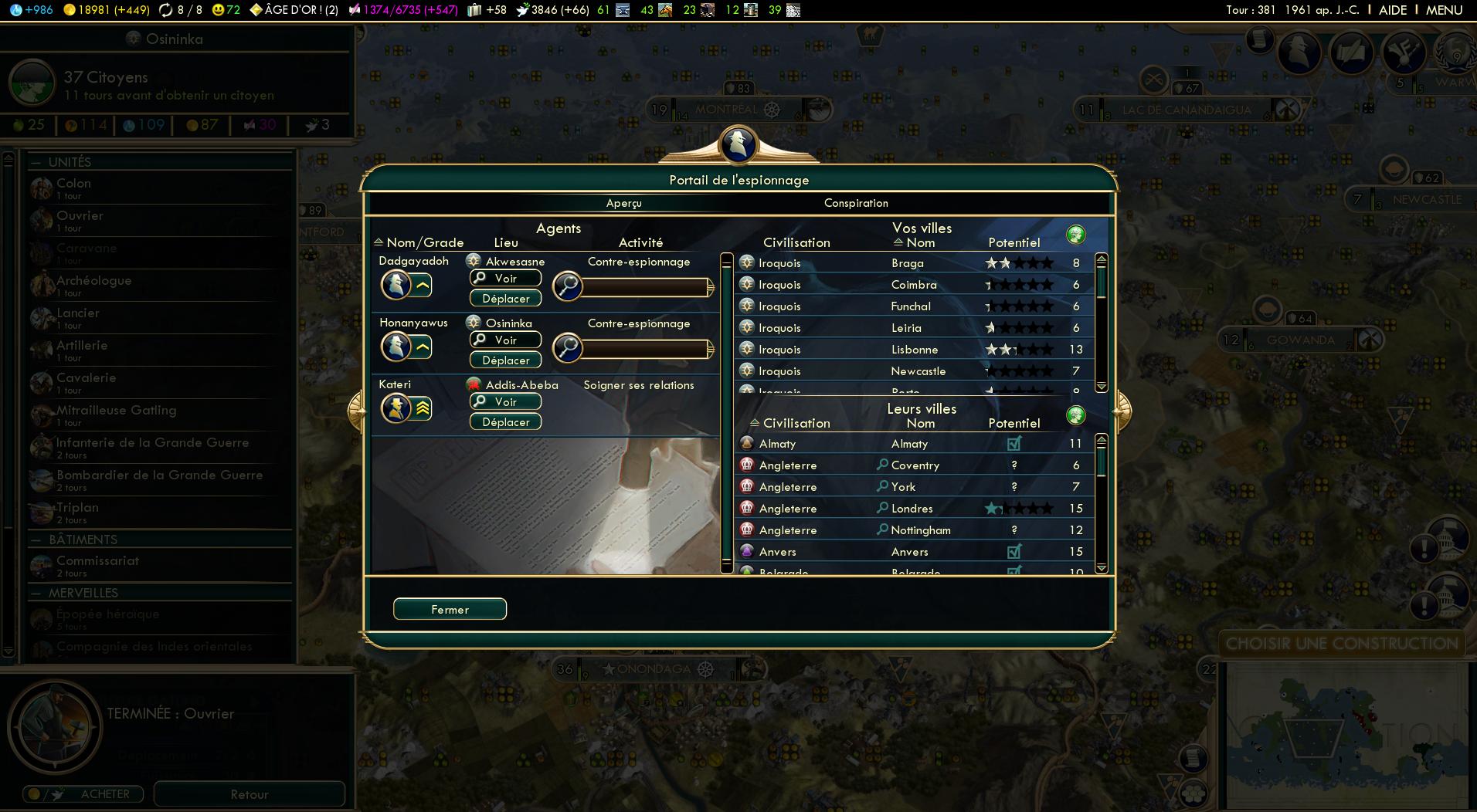 screenshots capture d 39 ecran pour civilization v brave