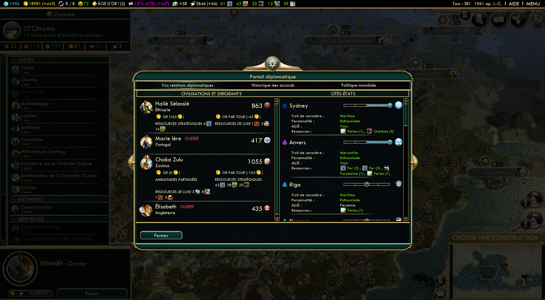 Screenshots capture d 39 ecran pour civilization v brave for Capture 2cran