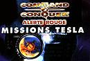 jaquette PSP Command Conquer Alerte Rouge Missions Tesla