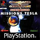 jaquette PlayStation 1 Command Conquer Alerte Rouge Missions Tesla