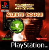jaquette PlayStation 1 Command and Conquer Alerte Rouge