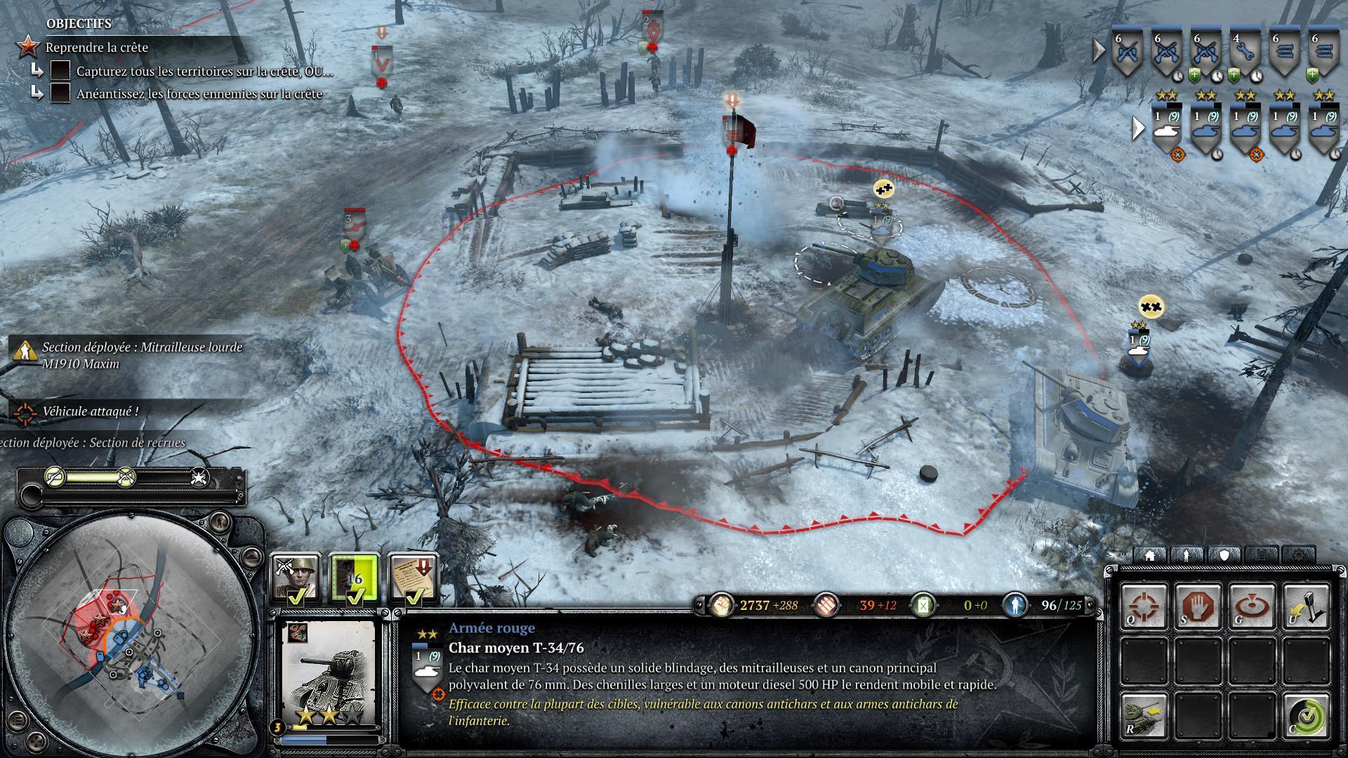 Screenshots capture d 39 ecran pour company of heroes 2 pc for Screenshot ecran