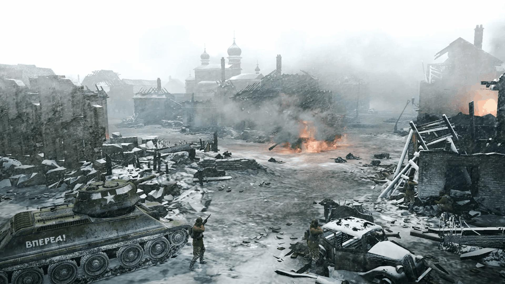Wallpapers fond d 39 ecran pour company of heroes 2 pc 2013 for Fond ecrant pc