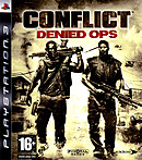 jaquette PlayStation 3 Conflict Denied Ops