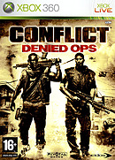jaquette Xbox 360 Conflict Denied Ops