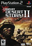 jaquette PlayStation 2 Conflict Desert Storm II