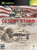 jaquette Xbox Conflict Desert Storm
