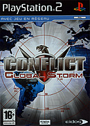 jaquette PlayStation 2 Conflict Global Storm