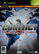 jaquette Xbox Conflict Global Storm