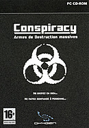 jaquette PC Conspiracy Armes De Destruction Massives