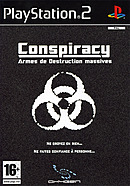 jaquette PlayStation 2 Conspiracy Armes De Destruction Massives