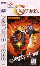 jaquette Saturn Contra Legacy Of War