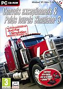 jaquette PC Convois Exceptionnels Et Poids Lourds Simulator 2013