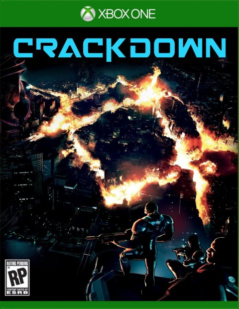 jaquette Xbox One Crackdown 3