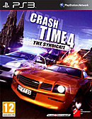 jaquette PlayStation 3 Crash Time 4 The Syndicate