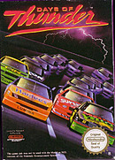 jaquette Nes Days Of Thunder