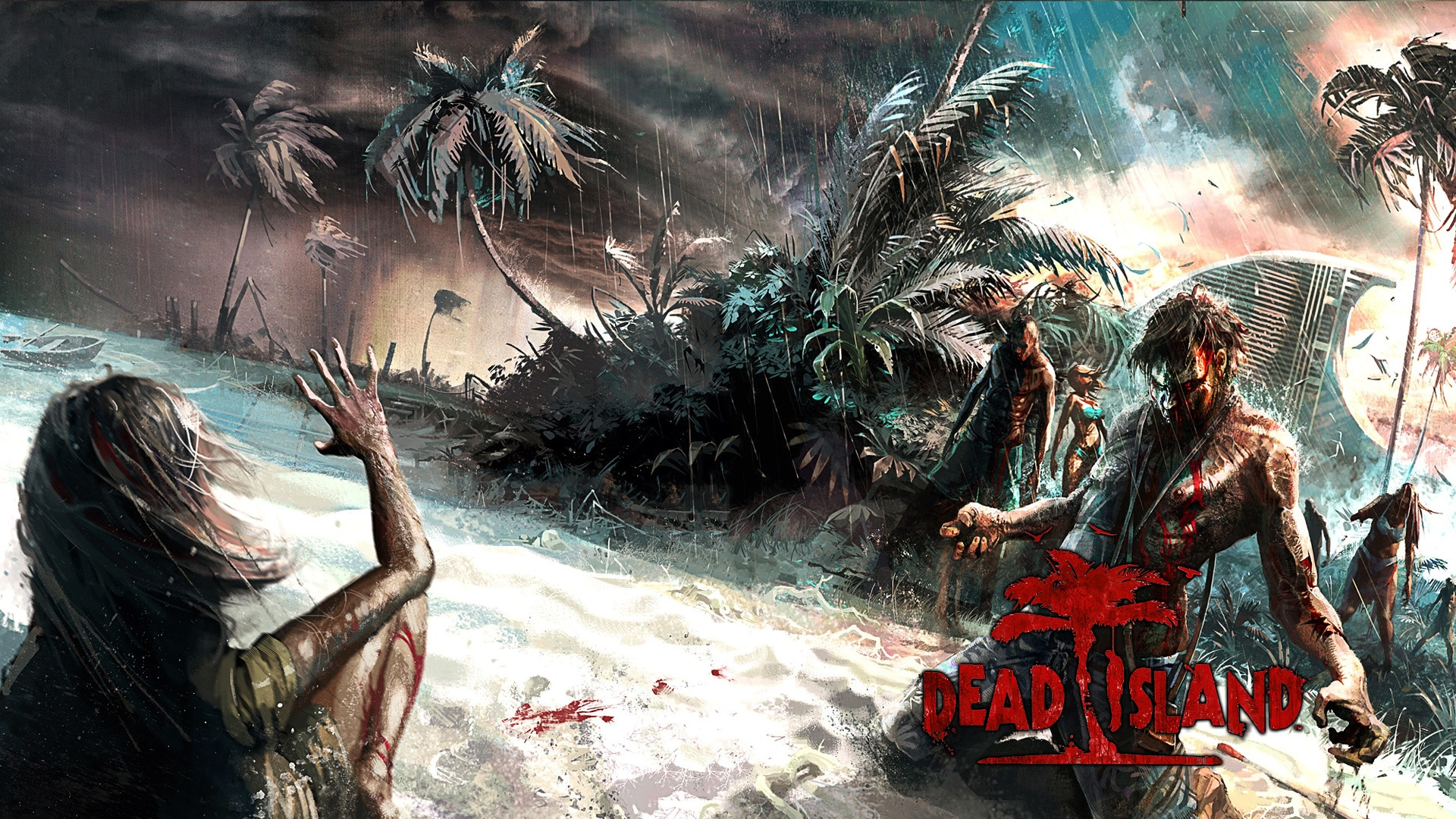Wallpapers, fond d'ecran pour Dead Island PC, PS3, Xbox ... Hd Wallpaper 1920x1080