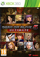 jaquette Xbox 360 Dead Or Alive 5 Ultimate