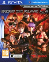 jaquette PS Vita Dead Or Alive 5