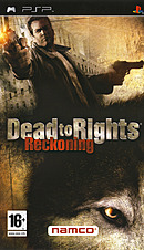 jaquette PSP Dead To Rights Reckoning