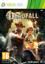 jaquette Xbox 360 Deadfall Adventures