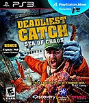 jaquette PlayStation 3 Deadliest Catch Sea Of Chaos