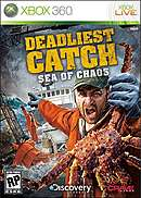 jaquette Xbox 360 Deadliest Catch Sea Of Chaos