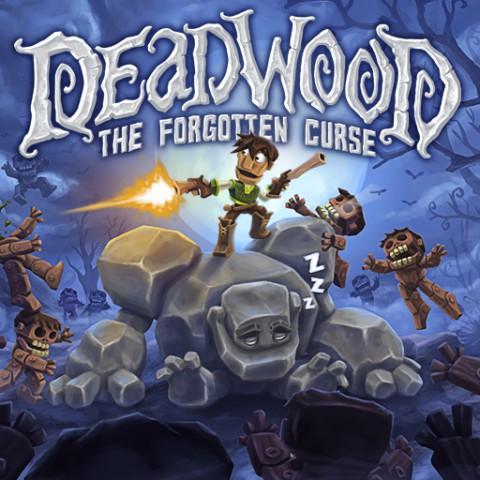 jaquette PlayStation 4 Deadwood The Forgotten Curse