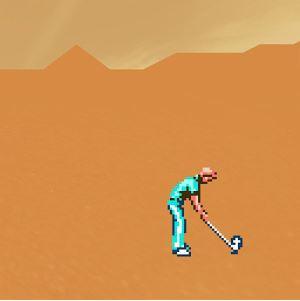 jaquette iOS Desert Golfing