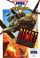 jaquette Master System Desert Strike Return To The Gulf