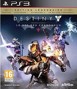 jaquette PlayStation 3 Destiny Extension III Le Roi Des Corrompus