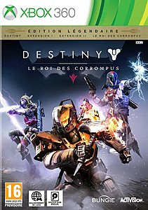 jaquette Xbox 360 Destiny Extension III Le Roi Des Corrompus
