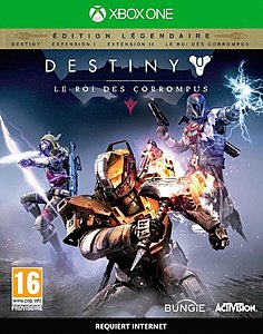 jaquette Xbox One Destiny Extension III Le Roi Des Corrompus