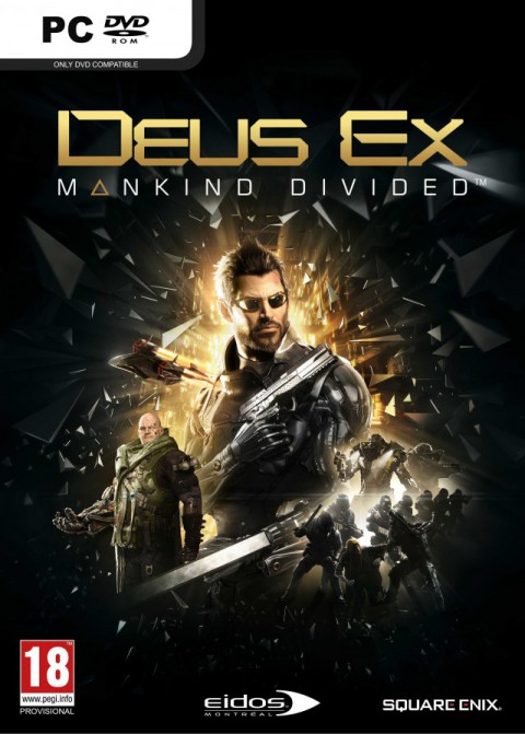 jaquette PC Deus Ex Mankind Divided