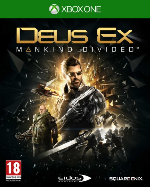 jaquette Xbox One Deus Ex Mankind Divided