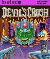 jaquette PC Engine CD ROM Devil s Crush