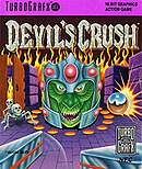 jaquette PC Engine Devil s Crush