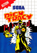 jaquette Master System Dick Tracy
