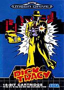 jaquette Megadrive Dick Tracy