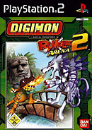 jaquette PlayStation 2 Digimon Rumble Arena 2