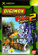 jaquette Xbox Digimon Rumble Arena 2