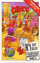 jaquette Commodore 64 Dizzy Prince Of The Yolkfolk