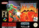 jaquette Super Nintendo Doom