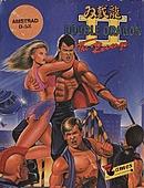 jaquette Amstrad CPC Double Dragon II The Revenge