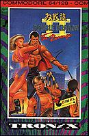jaquette Commodore 64 Double Dragon II The Revenge